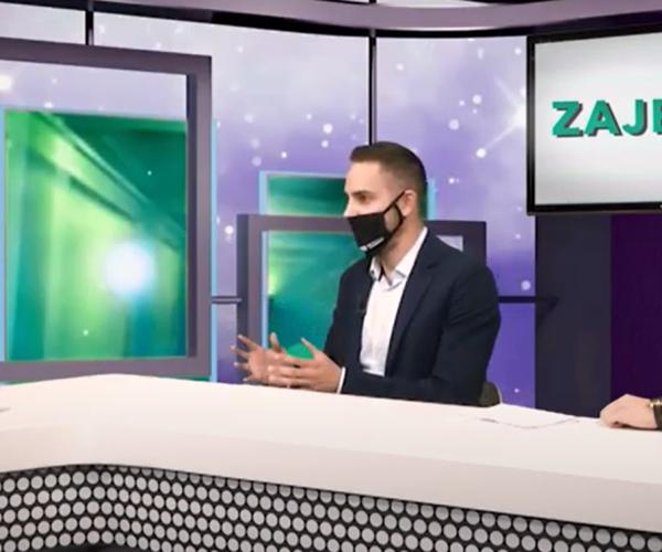 Emisija Zajedno – Marko Žmirak i Emilio Butigan